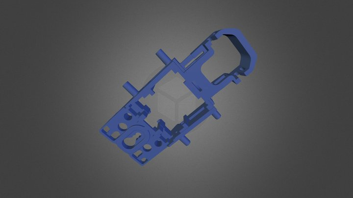 Chassis mag cut 3D Model