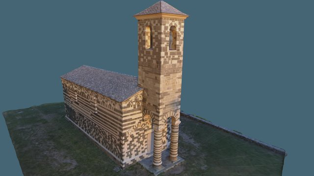 Eglise San Michele, 20239 Murato 3D Model