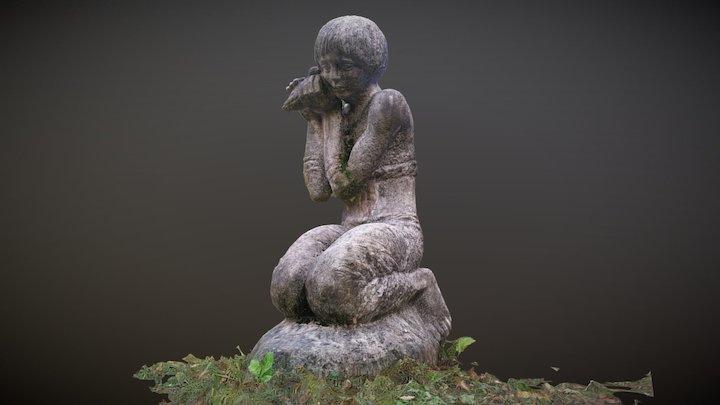 Erdős Renée Emlékház kertje 3D Model