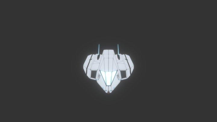 Galaxy Fighter 3D Model