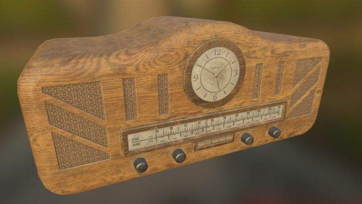 1940's Clock 3D Model