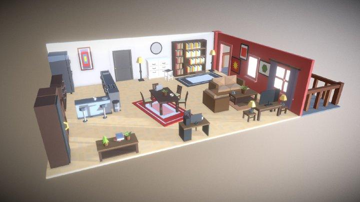 Simpoly_Room_#3 3D Model