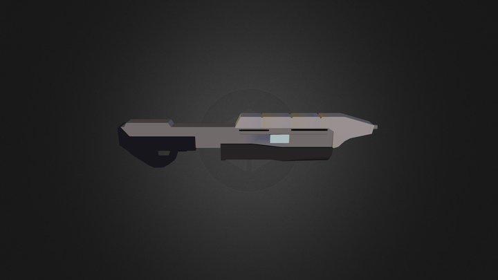 Halo CE Assault Rifle 3D Model