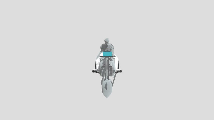 Future Moto 3D Model🏍 3D Model