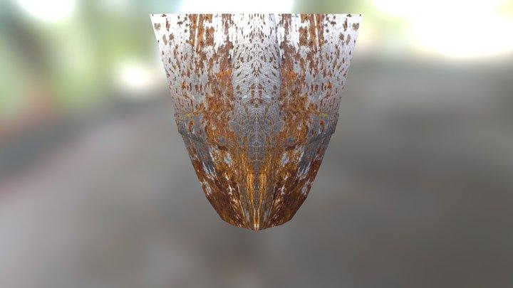Shield - 224 faces 3D Model