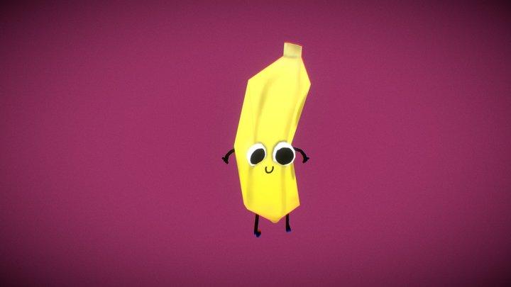 Banana de Luiza - Hip Hop Dancing 3D Model