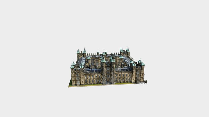 Donaldson's School in Edinburgh 3D Model
