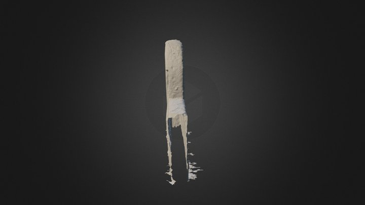 Aberlemno Kirkyard Gravestone 3D Model