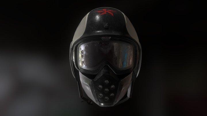 SharkRaw Soyouz helmet a.k.a. 'АКУЛА' 3D Model