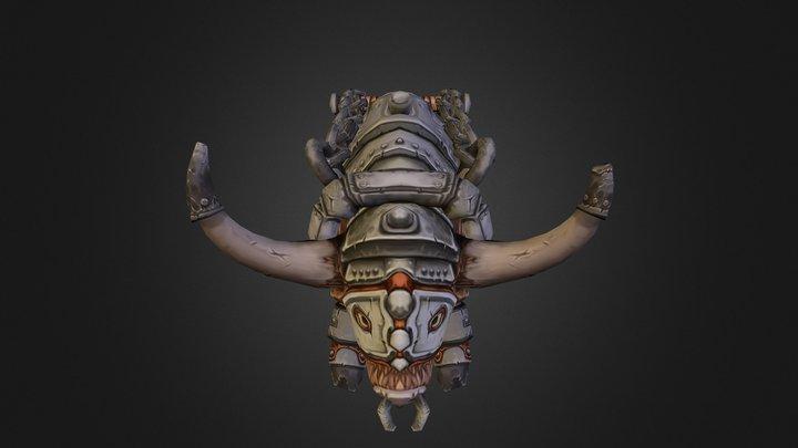 Reins Primal Tauren 3D Model