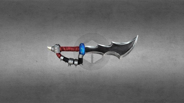 Orc Sword repro. 3D Model
