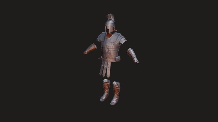 Centurion armor - from game Ryse: Son Of Rome 3D Model
