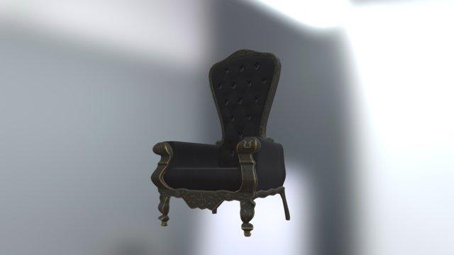 Victorian Chair 3D Model