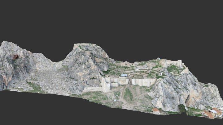 Tokat Kalesi 3D Modeli 3D Model