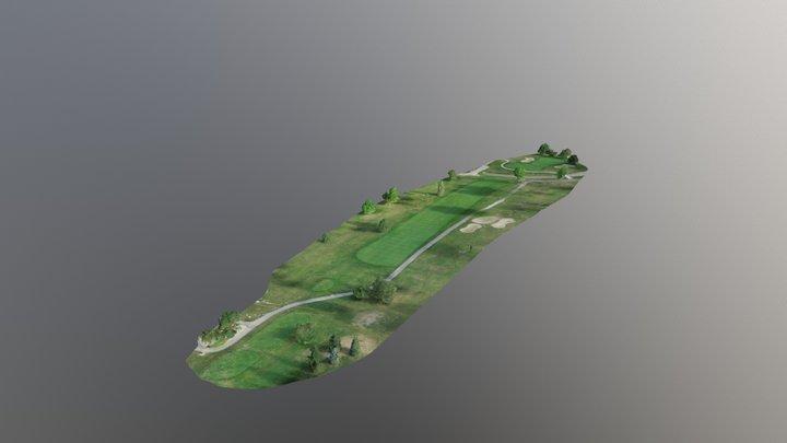 St. Clair Shores Golf Course - Hole #11 3D Model