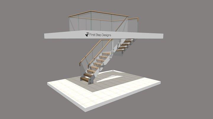 Rigby Open Plan Design 3D Model