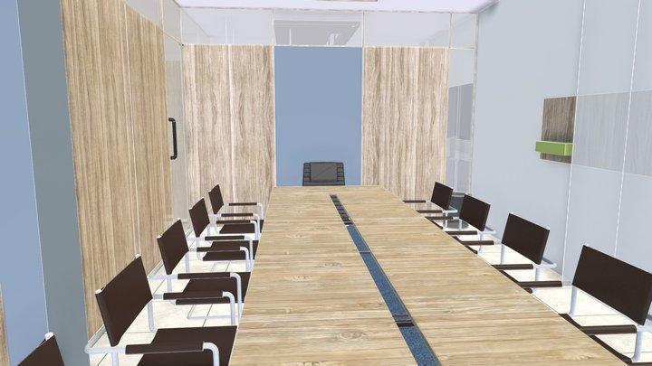 Interior Oficina 3D Model