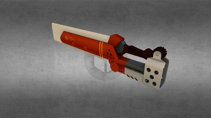 Fireseal Sword 3D Model