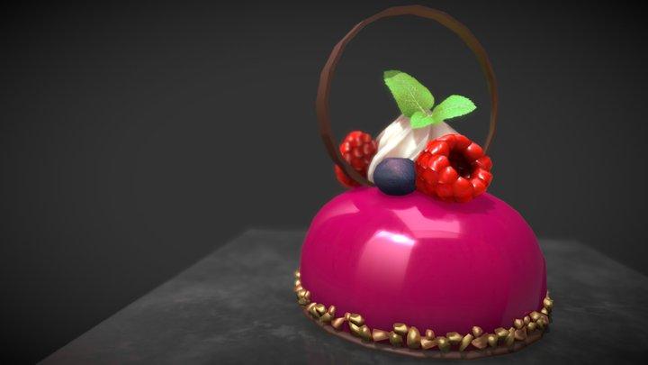 Dessert Sphere 3D Model