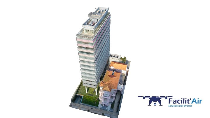Baixa de Construção Obtida por Proc. Digitais 3D Model