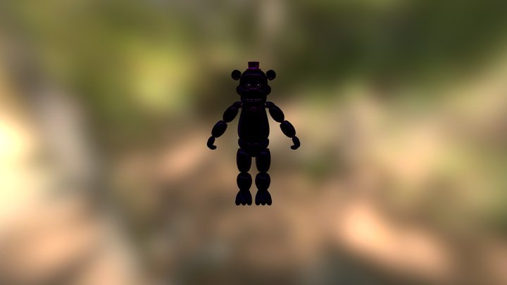 Shadow Freddy 3D Model