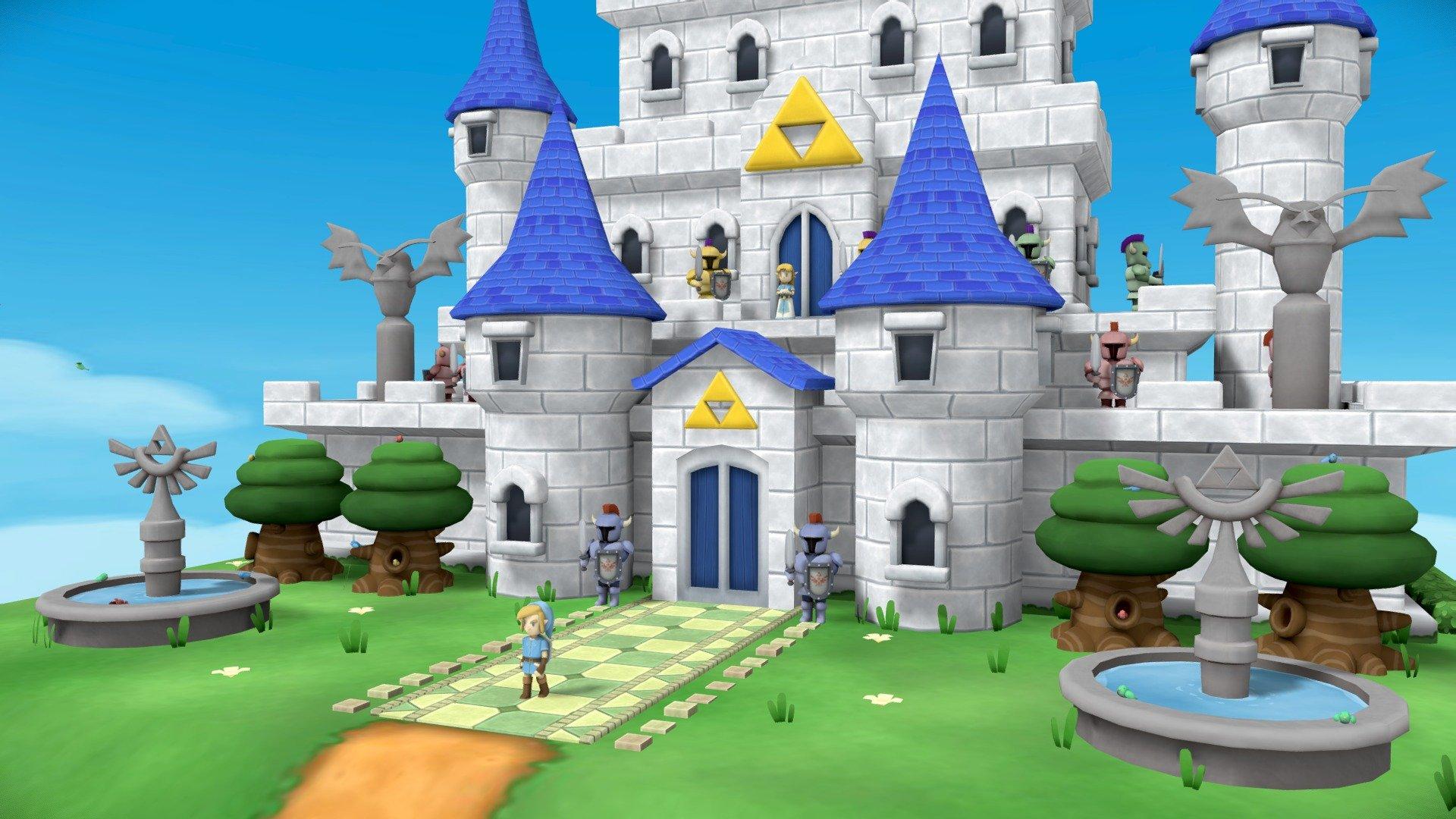 A Link To The Wild Hyrule Castle 3d Model By Chris Mendo Chris Mendo E6b2838 Sketchfab