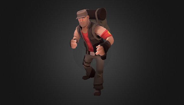 Commando tf2 3D Model