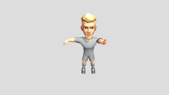 Character Fot 3D Model