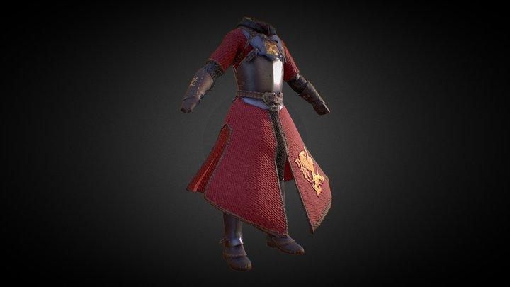 Lion Armor 3D Model
