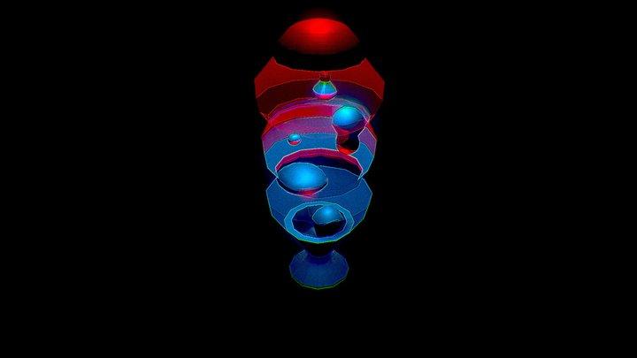Retrofuturism - Standard Asset 2 - Lavalamp 3D Model