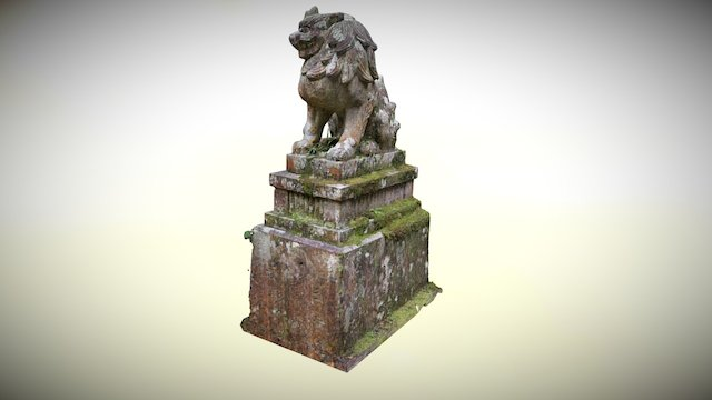 Ebumi Shrine Komainu 3D Model