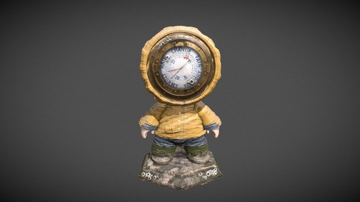 Meet Mat 2 - Barometer Mat 3D Model