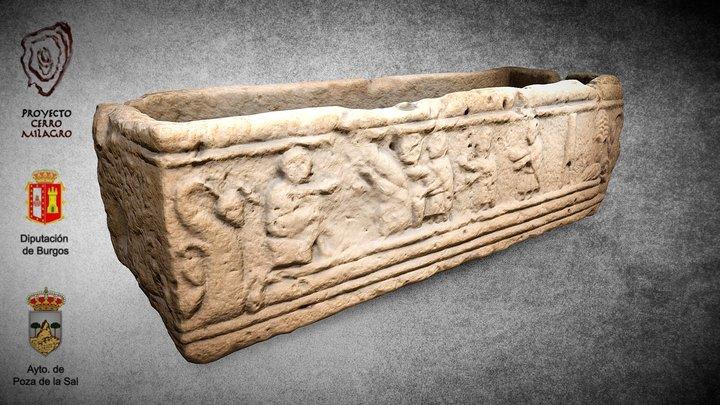 Sarcófago paleocristiano 3D Model