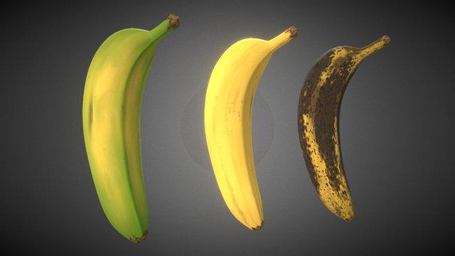 Substance - Banana 3D Model