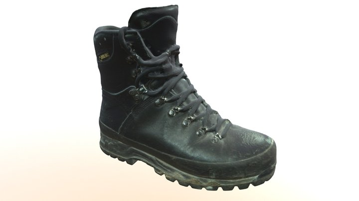 Trekking Boot 3D Model