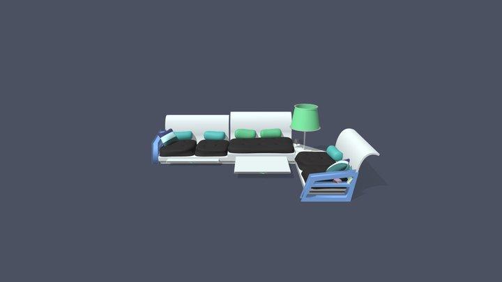 Soffan 3D Model