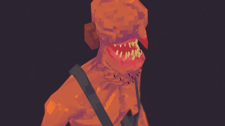 PS1 Ghoul | Free Download 3D Model