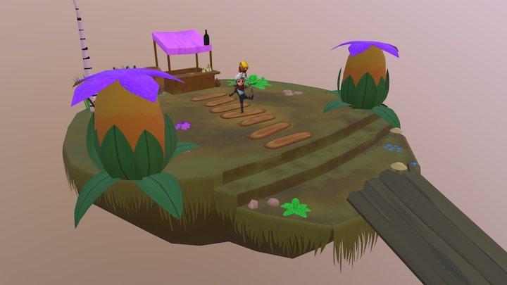 Island Bastion 3D Model
