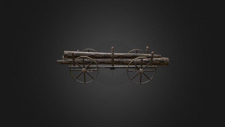 char a tronc 3D Model