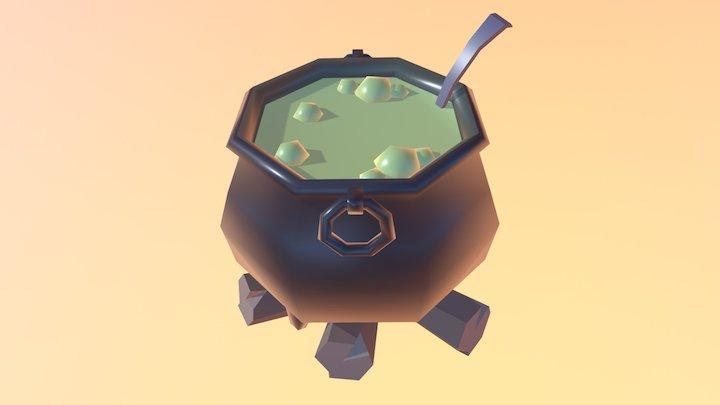 Evil Cauldron 3D Model