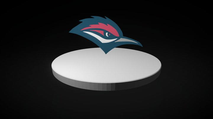 Aubrey Highschool Logo 3D Model