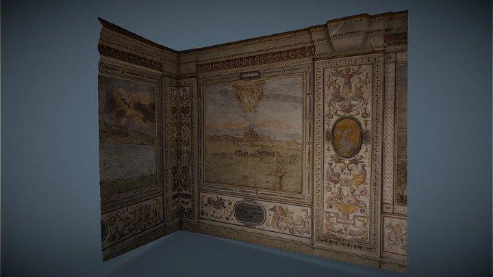 Palazzo Vecchio, Arkadenhof 3D Model