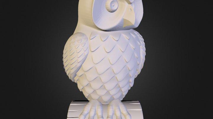 Baykuş 3D Model