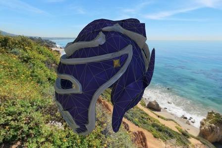 Championship Medieval Helmet 3D Model