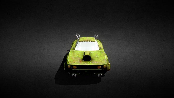 Walker Podracer 3D Model