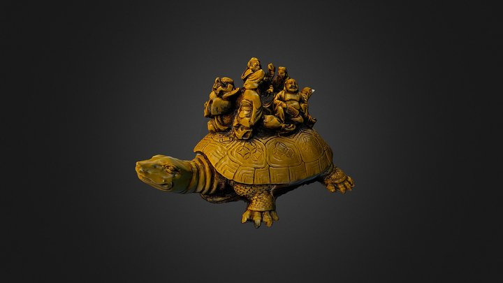 Chinese turtle 3D Model