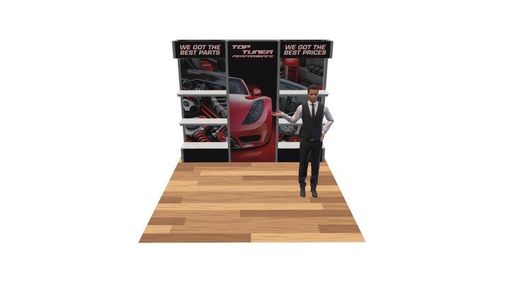 Alpine Booth D 3D Model