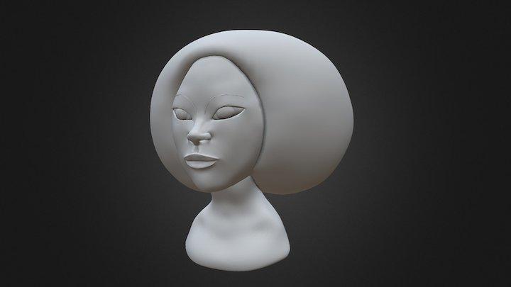Version Final Visage 7 3D Model
