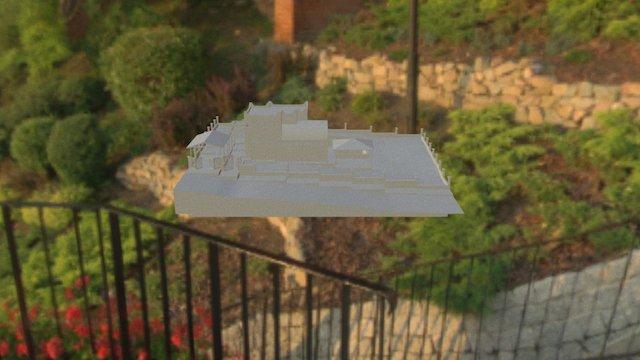 FFD 201 studio dream house 3D Model