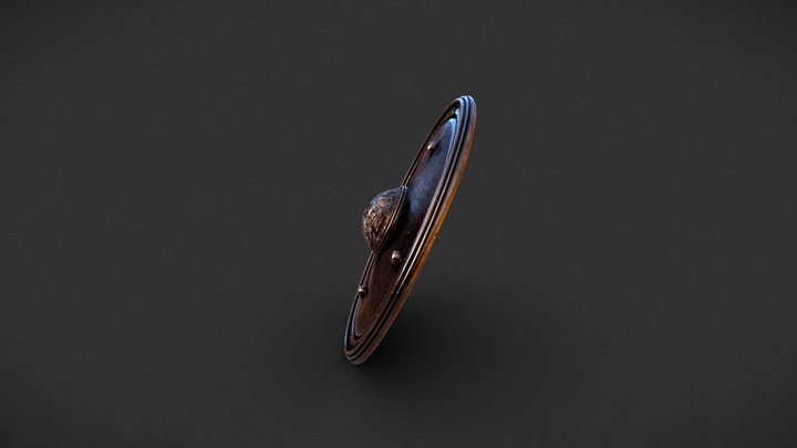 Egyptian Shield 3D Model